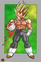 Prince Vegeta The Ultimate Life Form Super Saiyan by ARTmageddon