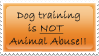 Dog training stamp by CaveLupa
