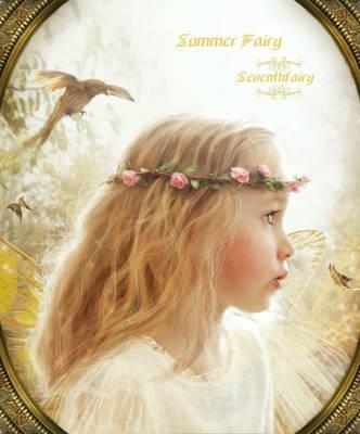 Summer Fairy by SeventhFairy