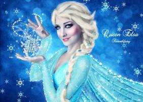 Queen Elsa by SeventhFairy