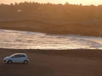 Diu Beach and Brio by SeventhFairy