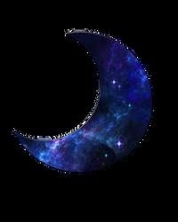 Galaxy Moon Vector (F2U) by Dust-Galaxy