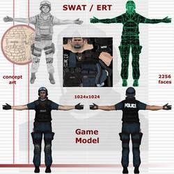 SWAT, ERT by Neal3d