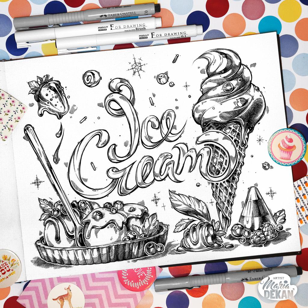 Ice cream by mariadekan