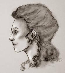 Lady Faith Crawford, Duchess of Norfolk by LLTA