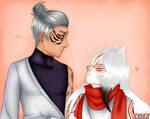 Shin and Aki by iBlueLeaf