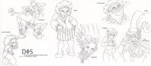 Divine Dis Doodles by JoJo-Seames