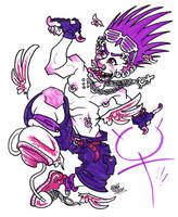 Purple Power Potentiality by JoJo-Seames