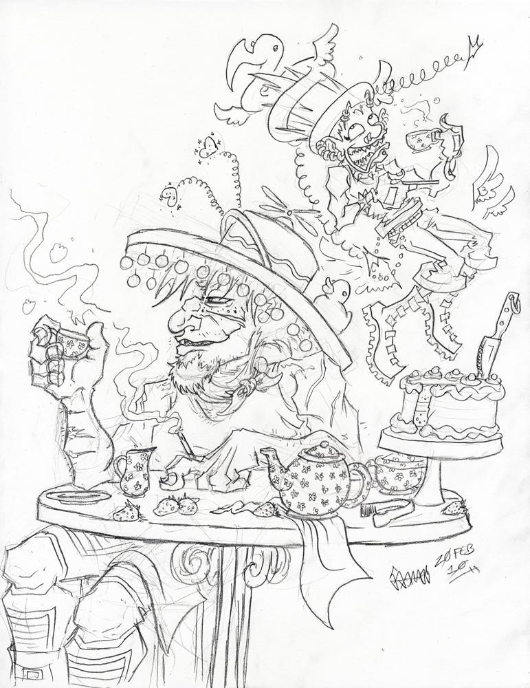 Coffee, Tea, or Silly Hats? by JoJo-Seames