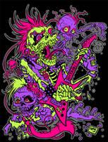 Zombies Rock by JoJo-Seames