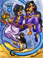 Aladdin by JoJo-Seames