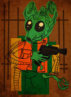 Greedo by JoJo-Seames