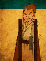 Obi-Wan on Tatooine by JoJo-Seames