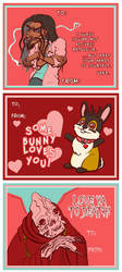 Makeshift Valentines by jojoseames