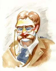 Theodore Roosevelt by jojoseames