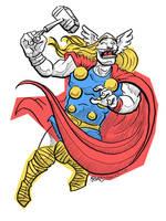 Thor V by JoJo-Seames