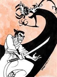 Samurai Jack by jojoseames