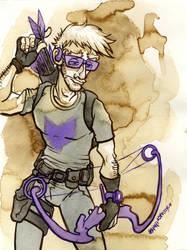 Hawkeye by jojoseames