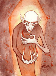 Nosferatu by jojoseames