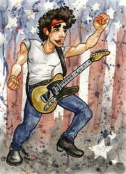 Bruce Springsteen by jojoseames
