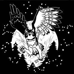 Owl With Key by jojoseames