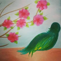 : GREEN BIRD : by Tsatsuke