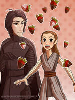 Chocolate covered stawberries! by Axxirah
