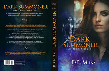 Dark Summoner by EricaCoverBook