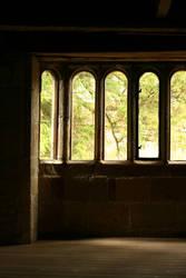 Castle Bay Window by RaeyenIrael-Stock