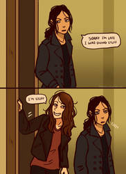 Person of Interest - Root and Shaw comic 2 by Maarika