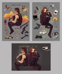 Shoot Art Prints by Maarika