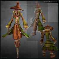 Twisted Scarecrow by CDB-ART