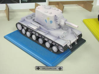 1:35 KV-2 [Party Cannon] - Silver Medal by TigerFey