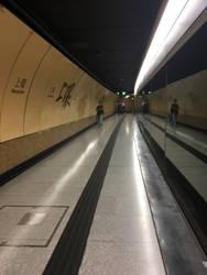 Sheung Wan station platorm by afl300