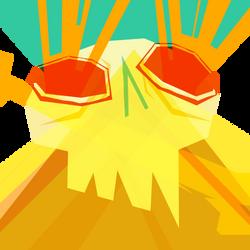 laser eyes by fishbot