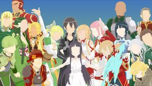 Sword Art Online by Hespen