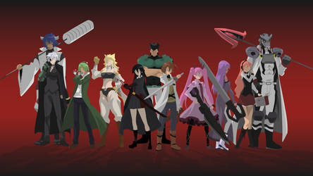 [Request] Akame ga Kill - Night raid by Hespen