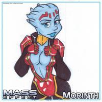 ME Sketch Pad - Morinth by LordSantiago