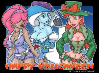 Happy Halloween 2 by LordSantiago