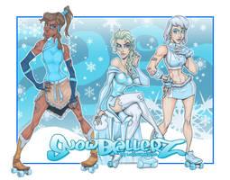Roller Derby Girls: Snowballerz by LordSantiago