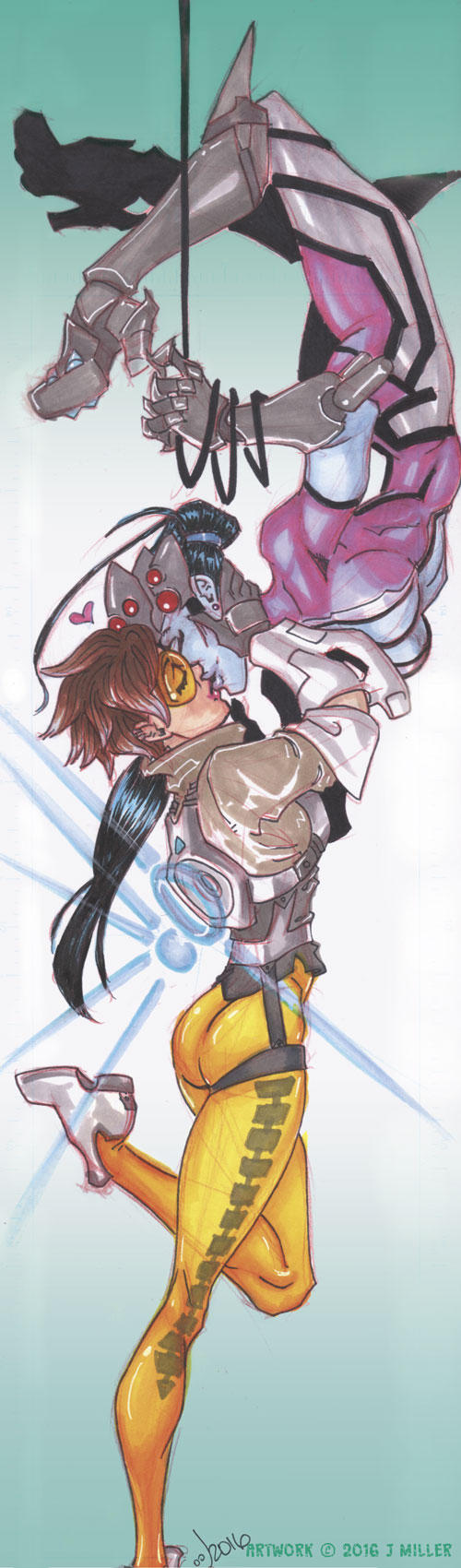 Overwatch WidowTracer by LordSantiago