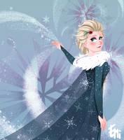 Olaf's Frozen Adventure - Elsa by Tokio92