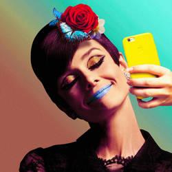 Audrey Hepburn's Instagram by renanbragac