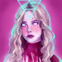 The Neon Demon II (Jesse) by Moon-In-Milk