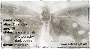 faded memories by d