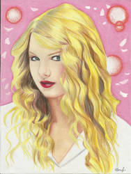 Taylor Swift by Tomosakura