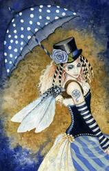 Shades of Blue by Acorncupcake