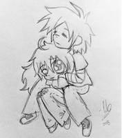 Cheebs couple by JeansLily