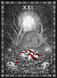 Tarot: The World by Doberlady