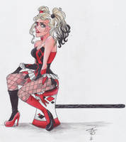 Harley Quinn - LAUGH IT OFF by TeraStormTAS